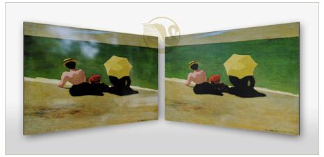 Como enmarcar tus fotos de un modo mas moderno y sin marco - Enmarcar cuadros en casa ...